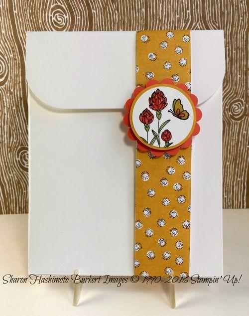 Flowering Fields card box