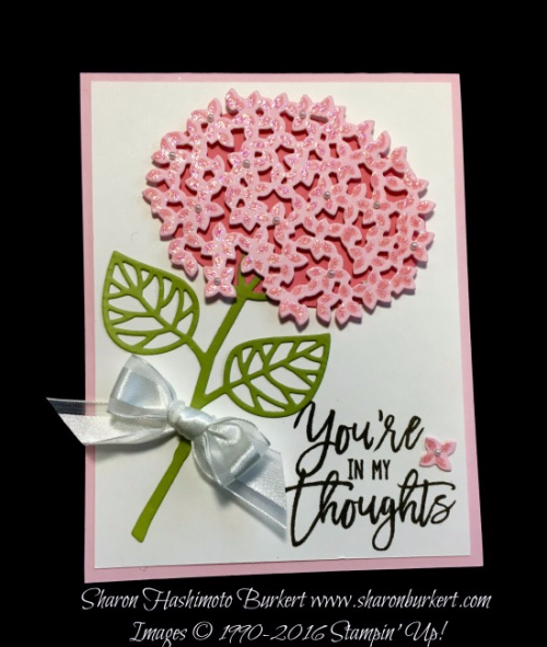 Thoughtful Branches stamp set www.sharonburkert.com #stampinup