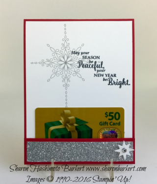 Easiest Gift card inside