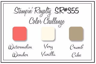 Stampin' Royalty 355