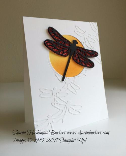 Dragonfly Dreams Bundle www.sharonburkert.com #stampinup