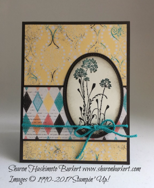 Serene Silhouettes Cupcakes and Carousels DSP www.sharonburkert.com