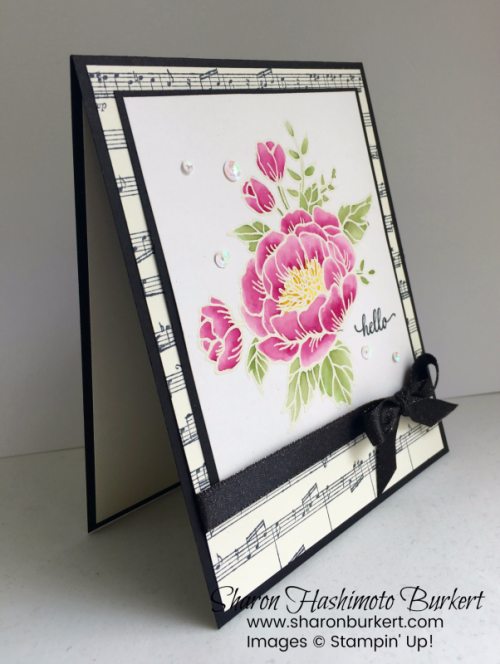 Birthday Blooms Sheet Music www.sharonburkert.com