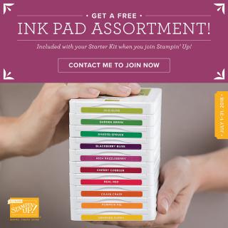 July Ink Pad promo