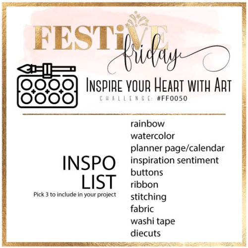 FF50 Inspire your art with heart