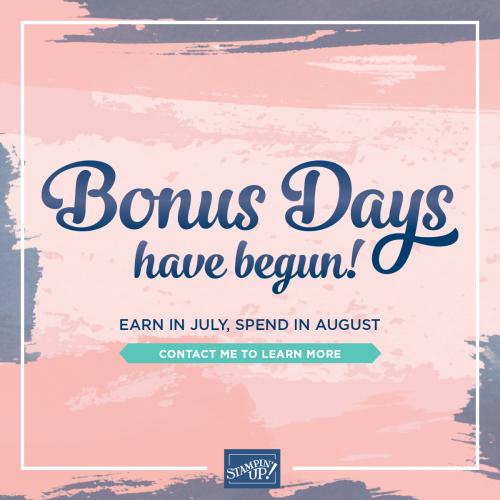 Bonusdays2020